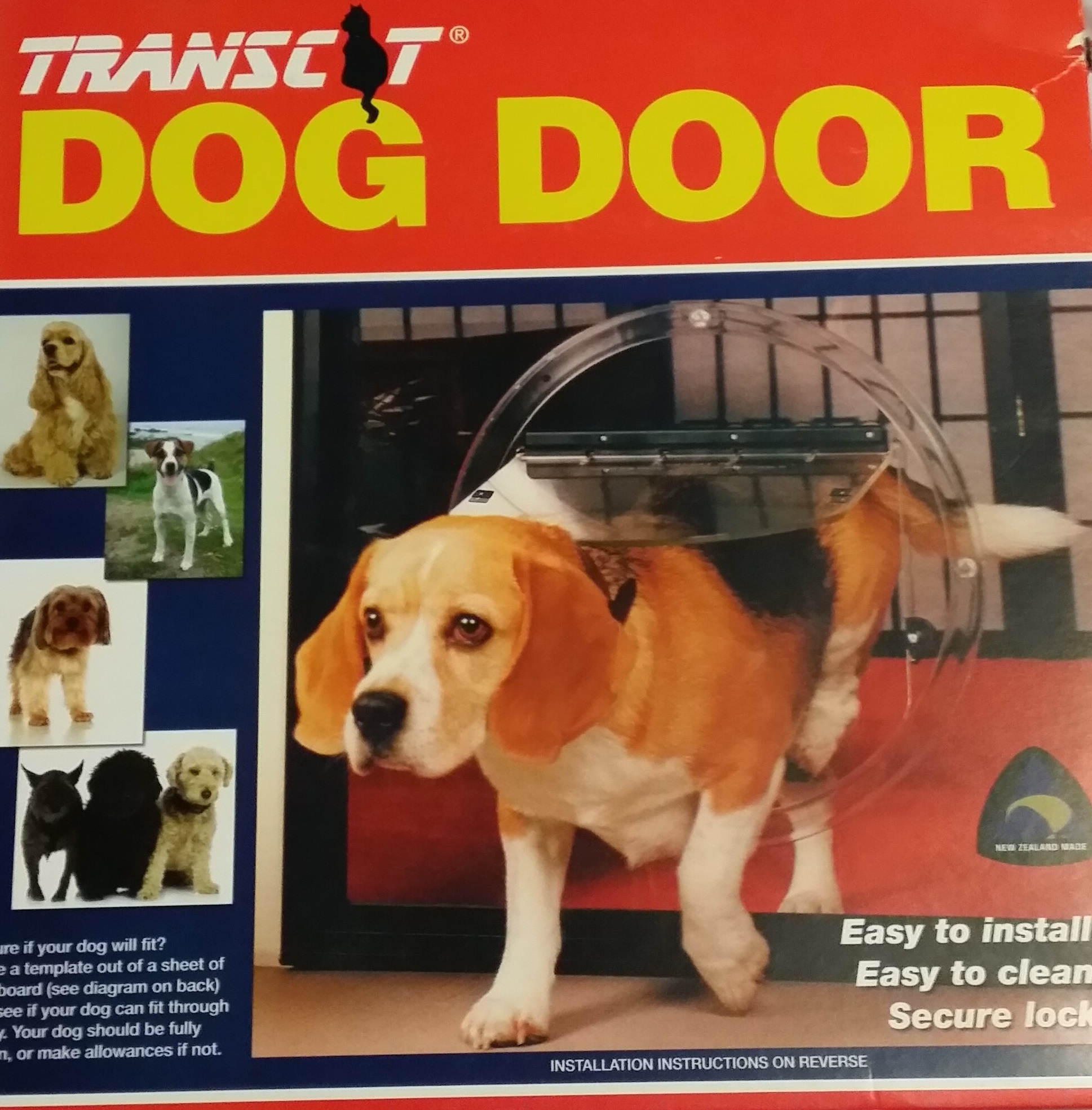 Transcat Dog Door 160 Gst Glassman Waikato